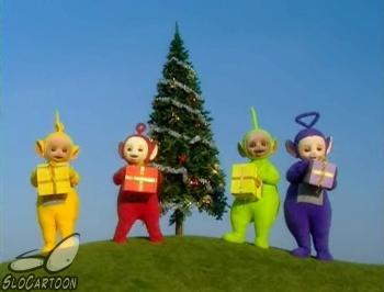 teletubbies merry christmas teletubbies 1998